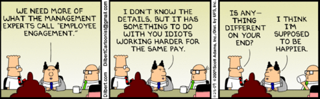 Dilbert on Engagement