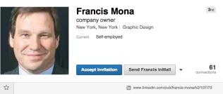 Francis Mona - LinkedIn.clipular