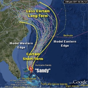 HurricaneSandyTracking